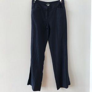 J Crew Baird McNutt Irish linen navy pants